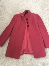 Ladies Womens Pink Winter Coat Jacket Size 14