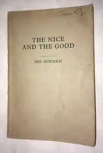Iris Murdoch The Nice and the Good 1968 First Edition Proof Copy Scarce