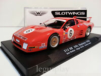 Slot Car Scx Scalextric FLY W50101AV - 512BB 24h. Daytona 1982 Wollek / Dören /