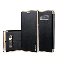 For Samsung S8+ Plus/S7 Edge Luxury Flip Leather Wallet Card Magnetic Case Cover