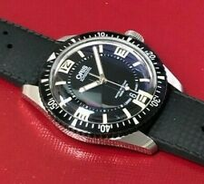Oris Divers Sixty-Five Black Dial Men's Watch Model 7707.