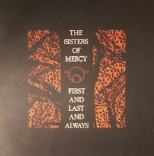 SISTERS OF MERCY, The - First & Last & Always (30th Anniversary Edition) - 4xLP