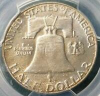 1958 D PCGS MS 65 Silver Franklin Half Dollar, Gem MS 65 Silver .50 Cent Coin