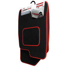 Mitsubishi Shogun Pinin 5 Door (2007+) Tailored Black Floor Mats [B]