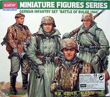 "ACADEMY 1377 German infantry set ""Battle of Bulge"" 1944 WWII° scala  1/35"