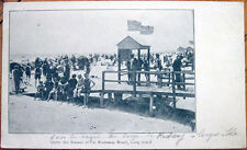 1905 Private Mailing Card/Postcard: Shower, Far Rockaway Beach, Long Island, NY