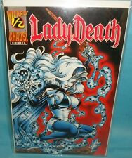 Lady Death 1/2 Wizard Red Velvet Edition 1st Print Chaos Comic F/Vf Condition