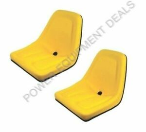 Genuine A&I Products 2 Pack SEAT FOR JOHN DEERE GATOR YELLOW Part# B1TM333YL