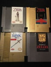 The Legend Of Zelda NES Ultra Rare Game Lot / Outlands + 3 Others! 4 Games Total