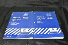 """New Holland TS90 TS100 TS110 Tractor """"Electrical & Power Train""""  Repair Manuals"""