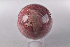 Rhodochrosite Sphere Argentina     7.7 cm # 2845