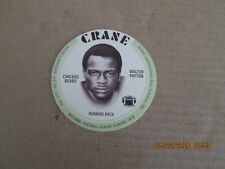 1976 Crane Football Set with WALTER PAYTON ROOKIE COMPLETE