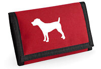 Jack Russell Terrier Gift Wallet Silhouette Design, Birthday Mothers Day Gift