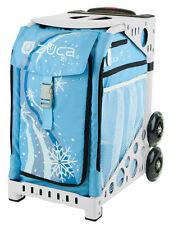 Zuca Bag Wonderland Insert & White Frame w/Flashing Wheels - Free Seat Cushion