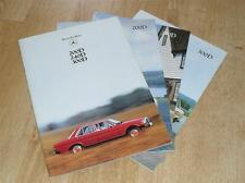 Mercedes 200D 240D 300D Series Brochure 1978 W123
