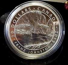 2013 $20 Fine Silver:Franz Johnston
