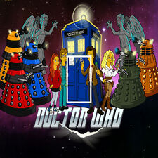 Dr Who Cartoon Light Switch Sticker Kids/Bedroom #110