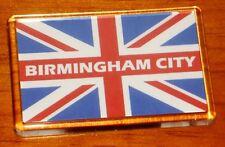 Birmingham City Union jack flag football fridge magnet