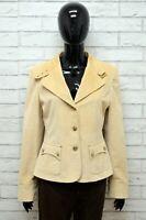 Giacca Donna MAX MARA Taglia Size 46 L Maglia Blazer Jacket Woman Regular Cotone