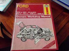 ford fiesta 1976-1983  haynes workshop manual