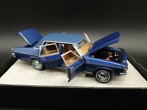 Trax Opal Series TO09B 1976 HX Statesman De Ville Blue Metalic 1:43 Scale NEW