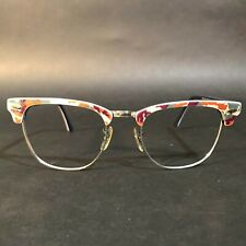 Ray Ban Pink Orange White Camouflage Sunglasses FRAMES RB3016 Clubmaster 1069