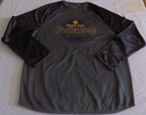 Golden State Warriors Therma Base Pullover Large Long Sleeve Charcoal Gray NBA