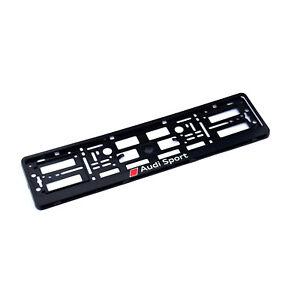 1x Kennzeichenhalter Nummernschildhalter für AUDI SPORT RS S