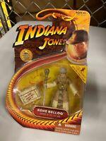 Indiana Jones Action Figure 2008 Series - Rene' Belloq - Brand New - MOC