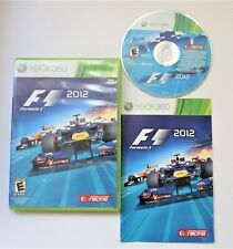 F1 2012 Racing Game Xbox 360 Complete With Manual