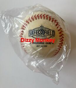 Mariners -1999 Rawlings Official Safeco Field Inaugural Game Baseball MLB