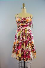 New Floral Print Party Dress NWT $58 Sleeveless Sundress by BCX Size 5
