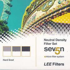 Lee Seven 5 Neutral Density Hard Grad Filter Set  (S5NDGHS) *NEW*