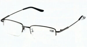 Grey Memory Alloy Myopia Eyewear Single Vision Distance Far Glasses -1.0 ~-6.0