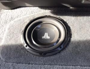 "In Excellent Condition JL Audio 8W1V3-4 8"" 4 Ohm Car Sub Subwoofer Speaker"