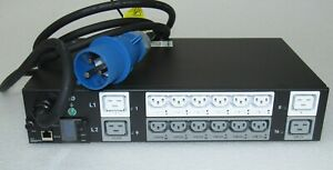 NEW HPE G2 Switched 7.3kVA/60309 3-wire 32A/230V Outlets (12) C13 (4) C19 P9S16A