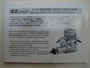 OS Max 32X and 32FX Original Instruction Manual (566)