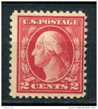 RED LINE 2 CENT US USA  WASHINGTON STAMP TIMBRE SUPERB UNUSED,ORIGNAL GUM