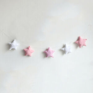 Cotton Star Baby Room Wall Hanging Ornament Nursery Decor Kids Decoration Crafts