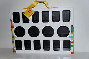 LEGO MINIFIGURE COLLECTORS BOX FOR 16 MINIFIGURES  No 851399 BRAND NEW!