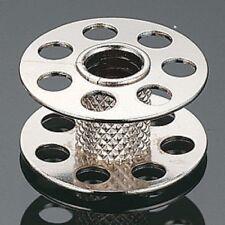 10X Metal Bobbin with Holes Both Side Knurled Stem 0115367000QW Bernina