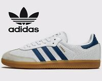 🔥 2019 Adidas Originals SAMBA OG  ® ( Men Size UK 11 EUR 46 ) White Legend Ink