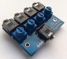 4 Channel mono Passive Mixer For Small Synth Eurorack Modular Pocket Operators