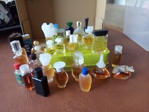 Lot miniatures parfums - divers