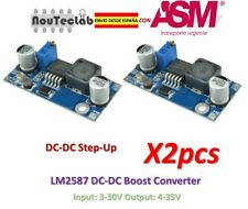 2pcs LM2587 DC-DC Boost Converter 3-30V Step up 4-35V MAX 5A Power Supply Module