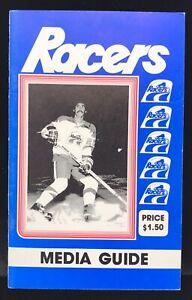 Wayne Gretzky 1st Year 1978/79 Indianapolis Racers Hockey Team Media Guide