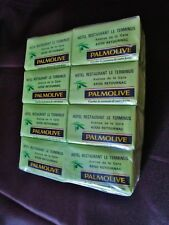 ancien gros lot de savon-savonnettes palmolive-issu d'1 hotel-soapmade in france