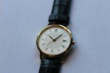 Baume and mercier classima 36mm 18k solid gold mens watch 65546