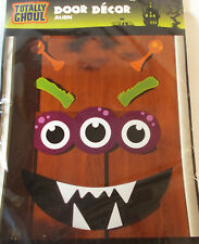 Halloween Door Decoration Alien Eyes Mouth Eyebrow Antennae NIP