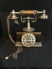 VINTAGE RETRO PUSH BUTTON CRADLE PHONE TELEPHONE